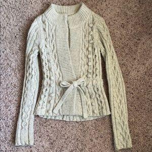 Grey Wrap Cardigan/Sweater